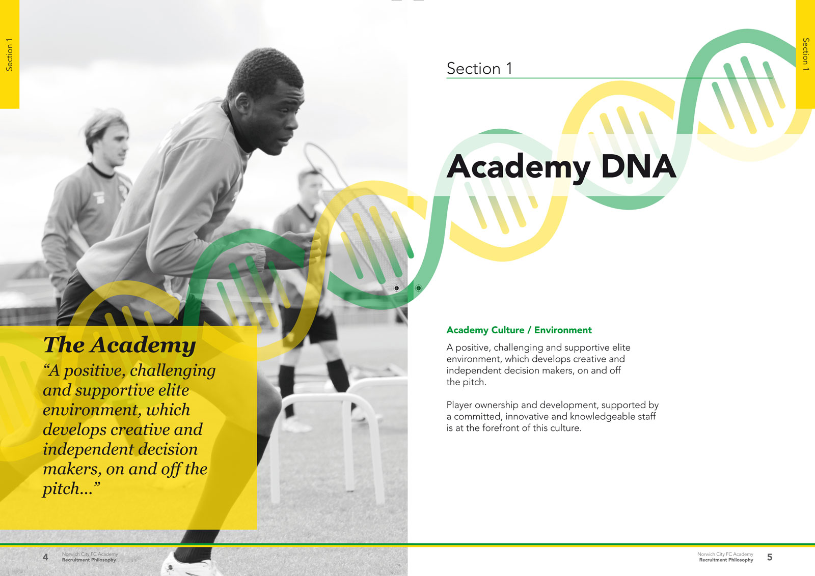 Norwich City FC Academy Recruitment Philosophy
