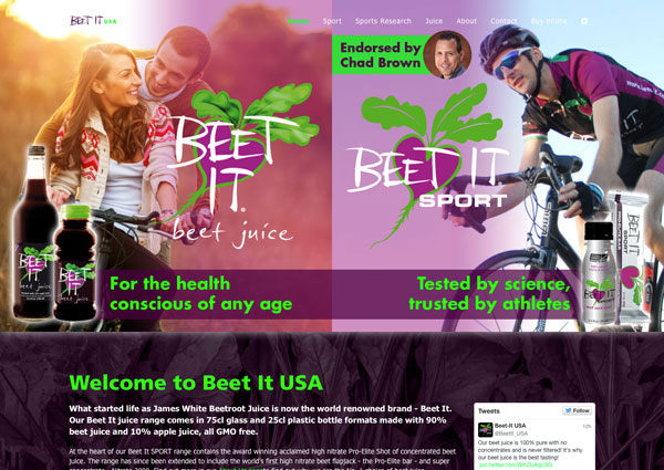 Beet It USA website