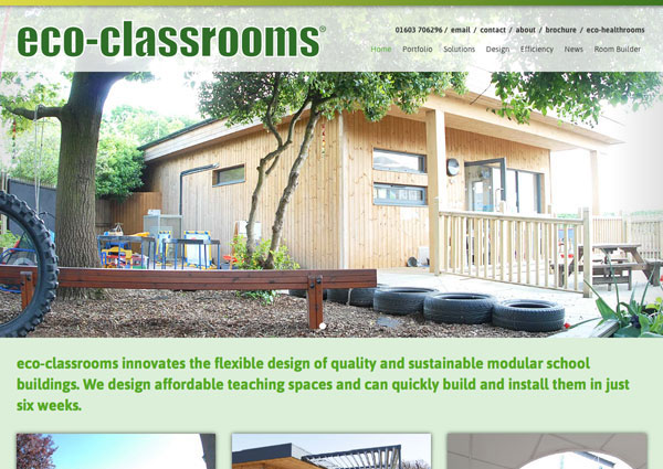 eco-classrooms website