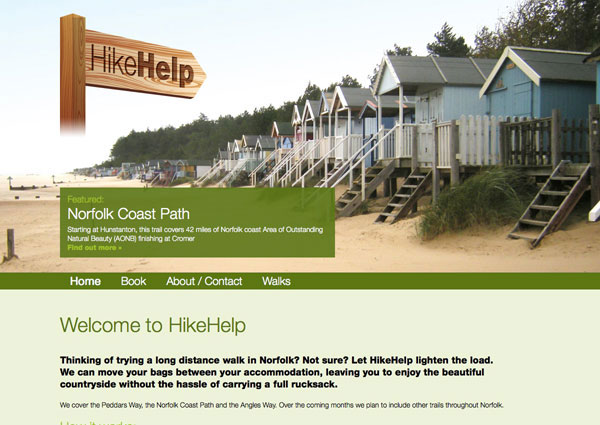 HikeHelp website