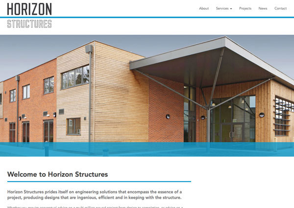 Horizon Structures website