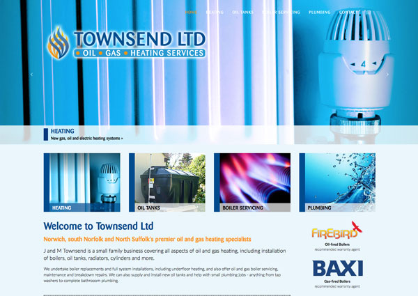 Townsend Ltd website